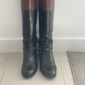 Unisa 6 ½ Two Tone Riding Boots